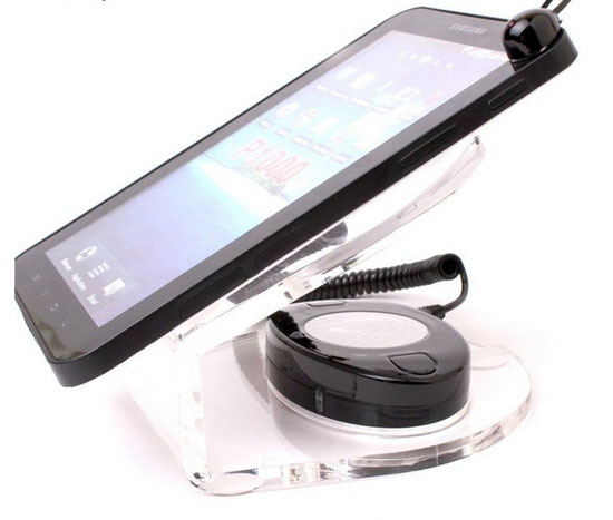 Tablet pc display alarm